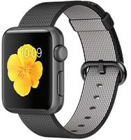 Apple Watch Sport 38mm gris espacial con correa de nailon trenzado negra [Wifi]