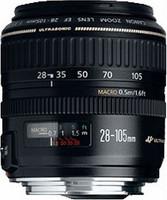Canon EF 28-105 mm F3.5-4.5 58 Objetivo (Montura Canon EF) negro