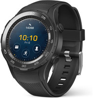 Huawei Watch 2 45mm nero con cinturino Sport carbon black [Wifi]