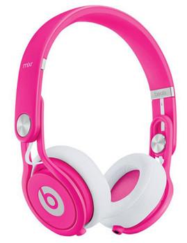 Beats by Dr. Dre Mixr roze & wit
