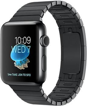 Apple Watch Series 2 42mm cassa in acciaio inossidabile nero siderale con bracciale a maglie nero siderale [Wifi]