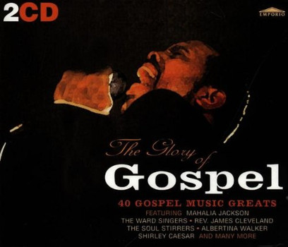 40 Gospel Music Greats - The Glory of Gospel-Dcd