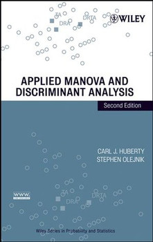 Applied MANOVA and Discriminant Analysis - Carl J. Huberty [Gebundene Ausgabe]