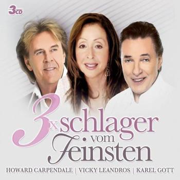 Various - 3x Schlager Vom Feinsten (Carpendale/Leandros/Gott