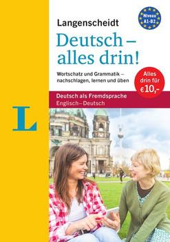 Langenscheidt Deutsch - alles drin! - Basiswissen Deutsch in einem Band. Wortschatz und Grammatik - nachschlagen, lernen und üben [Taschenbuch]