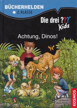 Bücherhelden: 2. Klasse - Die drei ??? Kids - Achtung, Dinos! - Ulf Blanck [Gebundene Ausgabe]
