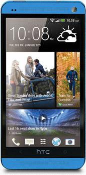 HTC One 32 Go bleu vif