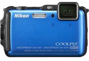 Nikon COOLPIX AW120 blauw