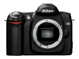 Nikon D50 zwart