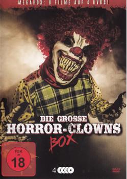 Die große Horror-Clowns Box [4 DVDs, Megabox]