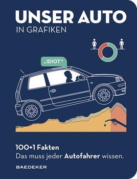 Baedeker 100+1 Fakten. Das muss jeder Autofahrer wissen.. UNSER AUTO IN GRAFIKEN [Gebundene Ausgabe]