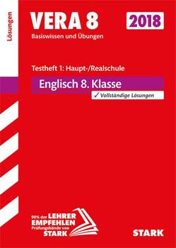 Lösungen zu VERA 8 Testheft 1: Haupt-/Realschule - Englisch [Taschenbuch]