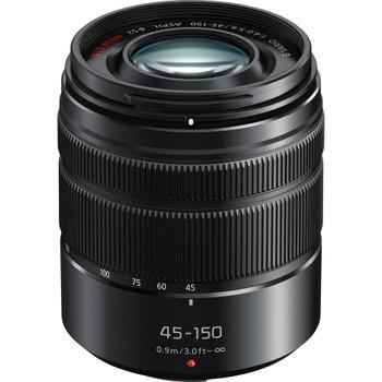 Panasonic Lumix G VARIO 45-150 mm F4.0-5.6 ASPH. O.I.S. 52 mm Objectif (adapté à Micro Four Thirds) noir