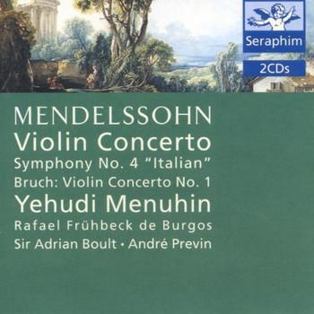 Menuhin - Seraphim - Mendelssohn-Bartholdy / Bruch
