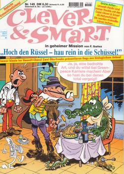 Clever und Smart: Nr. 145 - Hoch den Rüssel - Hau rein in die Schüssel! - F. Ibanez [Broschiert, 1. Auflage 1997]