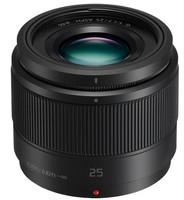 Panasonic Lumix G 25 mm F1.7 46 mm filter (geschikt voor Micro Four Thirds) zwart