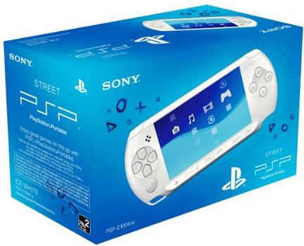 Sony PSP E1004 Blanche