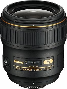Nikon AF-S NIKKOR 35 mm F1.4 G 67 mm Objectif (adapté à Nikon F) noir