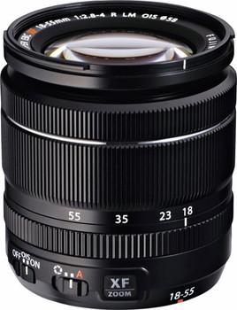 Fujifilm X 18-55 mm F2.8-4.0 LM OIS R 58 mm Objectif (adapté à Fujifilm X) noir