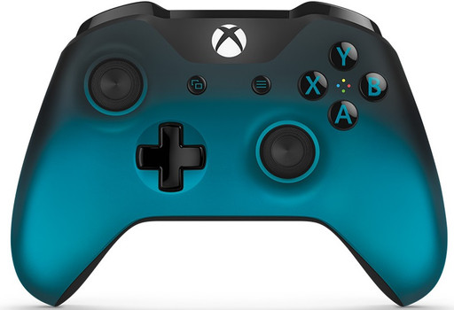 Microsoft Xbox One controller wireless [edizione speciale Ocean Shadow] nero turchese