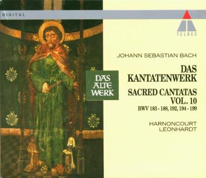 Harnoncourt - Das Kantatenwerk Vol. 10