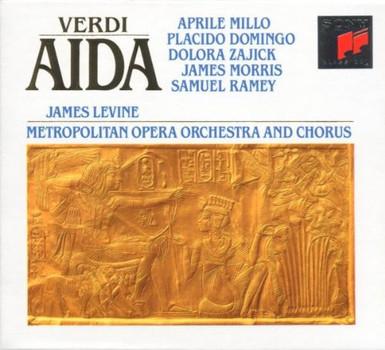 P. Domingo - Verdi: Aida (Gesamtaufnahme)