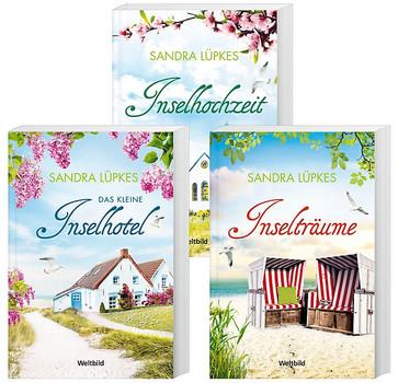Das kleine Inselhotel / Inselhochzeit / Inselträume - Sandra Lüpkes [3 Bände, Taschenbuch, Weltbild]