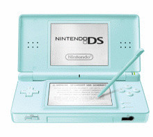 Nintendo DS lite turquesa