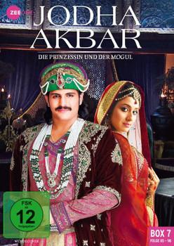 Jodha Akbar - Die Prinzessin und der Mogul (Box 7, Folge 85-98) [3 DVDs]