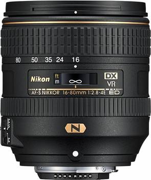 Nikon AF-S NIKKOR 16-80 mm F2.8-4.0E ED VR 72 mm Objetivo (Montura Nikon F) negro