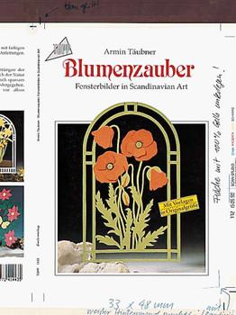 Blumenzauber. Fensterbilder in Scandinavian Art. - Armin Täubner