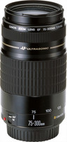 Canon 75-300 mm F4.0-5.6 USM 58 mm Objetivo (Montura Canon EF) negro