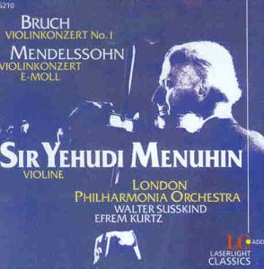 Y. Menuhin - Violinkonzert 1/-E-Moll