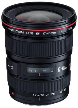 Canon EF 17-40 mm F4.0 L USM 77 mm Objectif (adapté à Canon EF) noir
