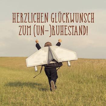 Herzlichen Glückwunsch zum (Un-)Ruhestand. Humorvolles Geschenkbuch mit klugen Zitaten und Wünschen - Korsch Verlag  [Gebundene Ausgabe]