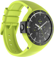 Mobvoi Ticwatch S 45 mm vert citron au bracelet en silicone aurora [Wifi]