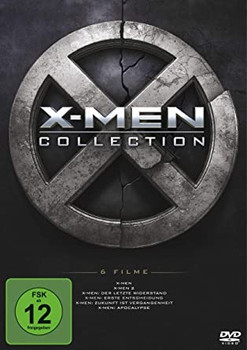 X-Men 1-6 Collection [6 Discs]