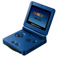 Game Boy Advance SP surf blue