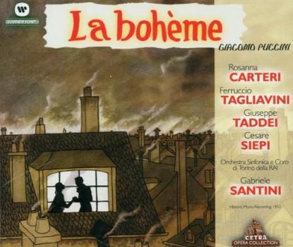 Carteri - Puccini: La Boheme (Gesamtaufnahme) (ital.)