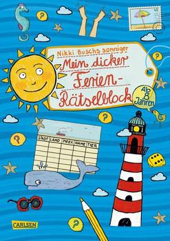 Mein dicker Ferien-Rätselblock. Band 6 - Nikki Busch  [Taschenbuch]