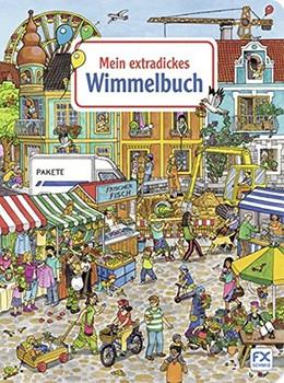 Mein extradickes Wimmelbuch - Caryad [Pappbilderbuch]