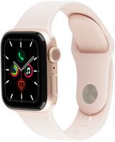 Apple Watch Series 5 40 mm Cassa in alluminio color oro con Cinturino Sport rosa sabbia [Wi-Fi]