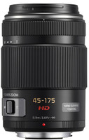 Panasonic Lumix G X VARIO  45-175 mm F 4.0-5.6 PZ 46 mm (Montura Micro Four Thirds) negro