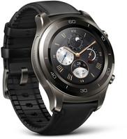 Huawei Watch 2 Classic 45mm grigio titanio con cinturino in pelle nero [Wifi]