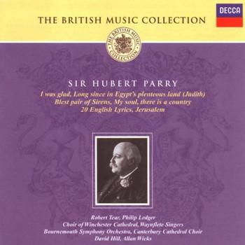 Allan Wicks - Parry,Sir Hubert: Works