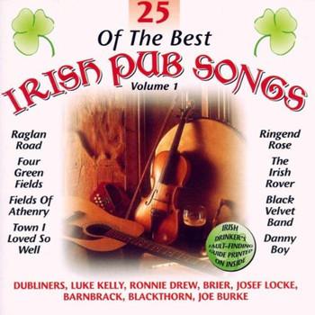 Various - 25 Of The Best Irish Drinking Songs Vol. 1