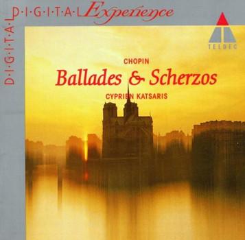 Cyprien Katsaris - Balladen und Scherzi