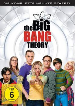 The Big Bang Theory - Die komplette neunte Staffel [3 DVDs]