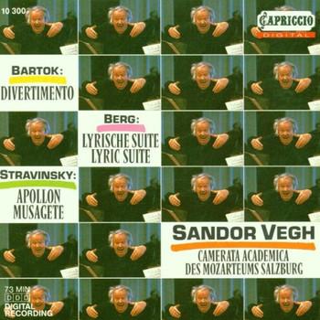 Sandor Vegh - Divertimento / Lyr.Suite / Apollon