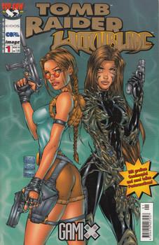 Gamix # 1: Tomb Raider Witchblade - Heft 1 - Michael Turner [Broschiert]